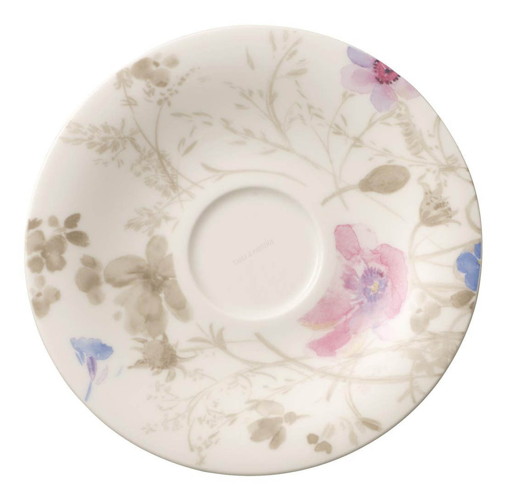 Villeroy and Boch Mariefleur Gris Coffee Saucer 16cm (Saucer Only)