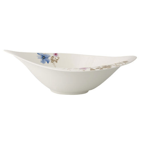 Villeroy and Boch Mariefleur Gris Salad Bowl 36cm by 24cm