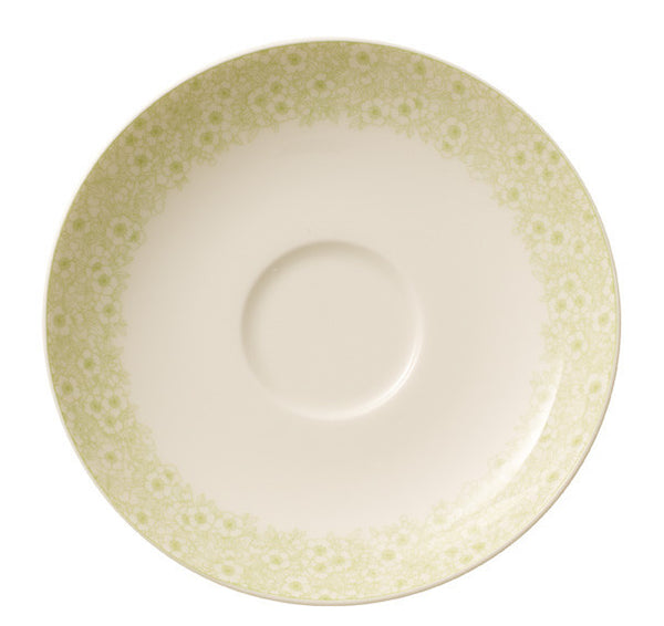 Villeroy and Boch Floreana Green Coffee Cup Saucer 14cm (Saucer Only)