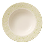 Villeroy and Boch Floreana Green Deep Plate 25cm