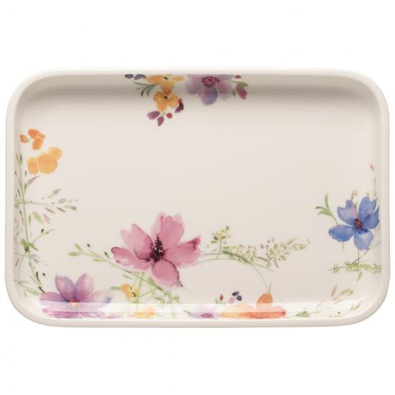 Villeroy And Boch Mariefleur Basic Baking Dishes Serving Dish / Rectangular Cover 32 By 22cm