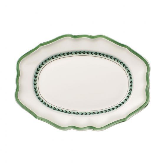 Villeroy and Boch French Garden Green Line Oval Plate