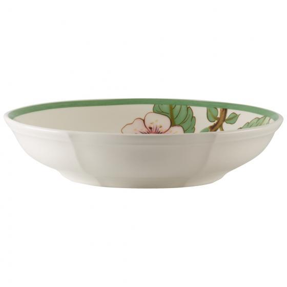 Villeroy and Boch French Garden Modern Fruits Cherry Flat Bowl 23,5 by 23,5 by 5CM