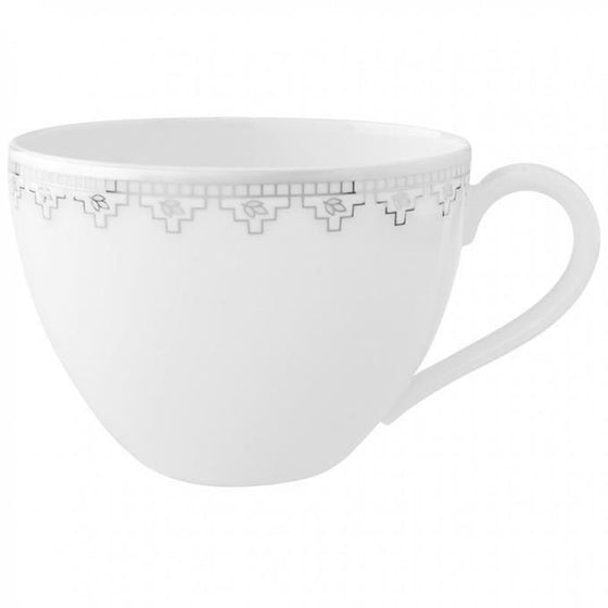 Villeroy and Boch White Lace Coffee Cup 0.20L (Cup Only)