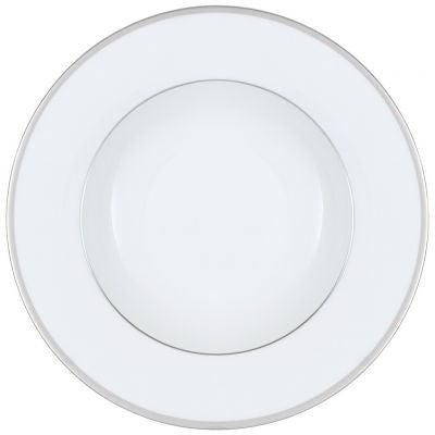 Villeroy and Boch Anmut Platinum No.2 White Deep Plate 24cm