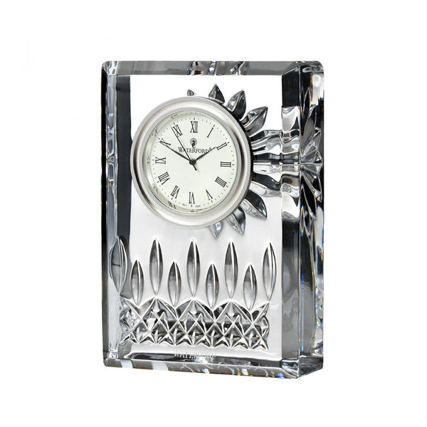 Waterford Crystal Lismore Small Clock 10cm
