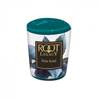 Root Candles Blue Basil Votive Candle