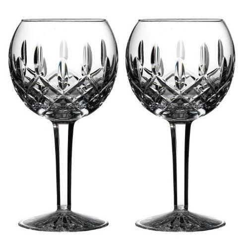 Waterford Crystal Lismore Balloon Wine Glasses (Pair)