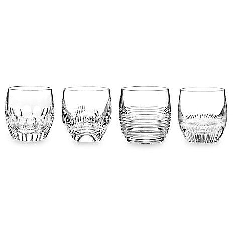 Waterford Crystal Mixology Clear Double Old Fashioned Glasses