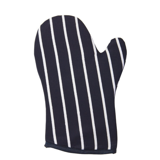 Rushbrookes Textiles Classic Butchers Stripe Navy Gauntlet 30cm by 18cm