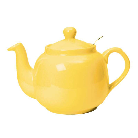 London Pottery Farmhouse Filter Lemon Yellow Teapot 1.20L