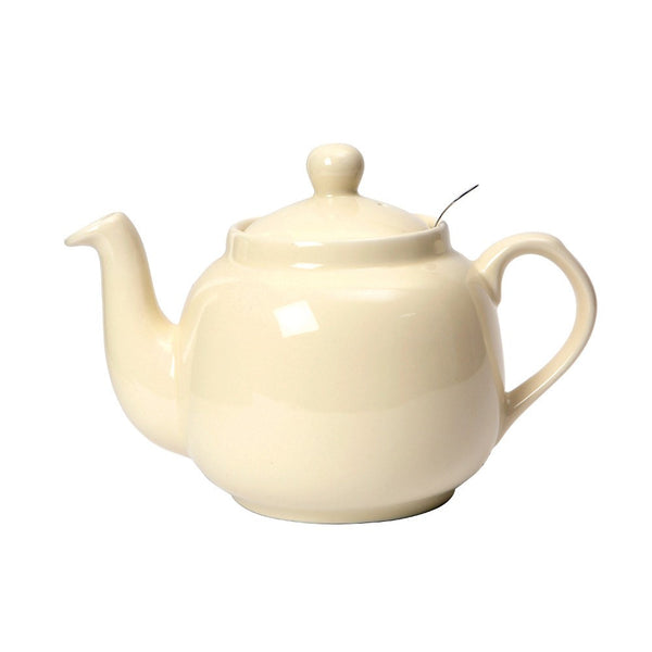 London Pottery Farmhouse Filter Ivory Teapot 1.20L