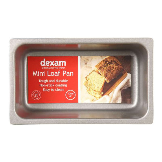 Dexam Bakers Pride Non-stick Mini Loaf Tin 10cm by 6.5cm