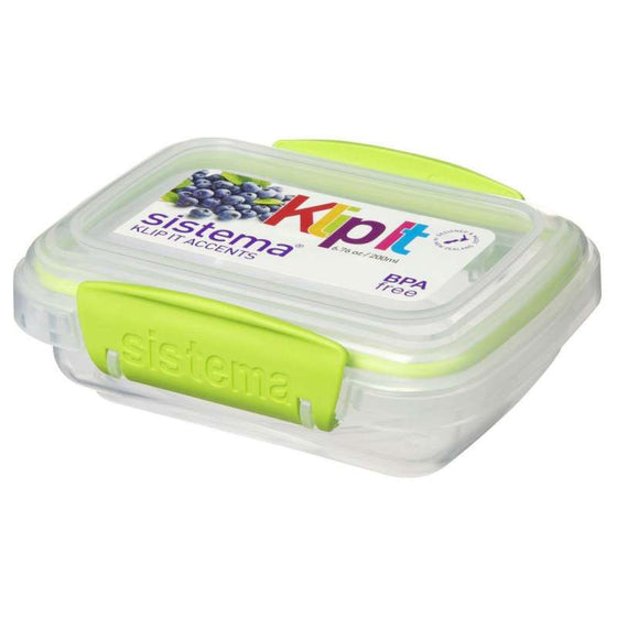 Sistema Accents Rectangular Container 0.20L
