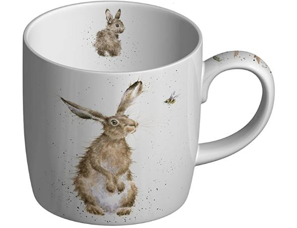Royal Worcester Wrendale The Hare and the Bee Mug