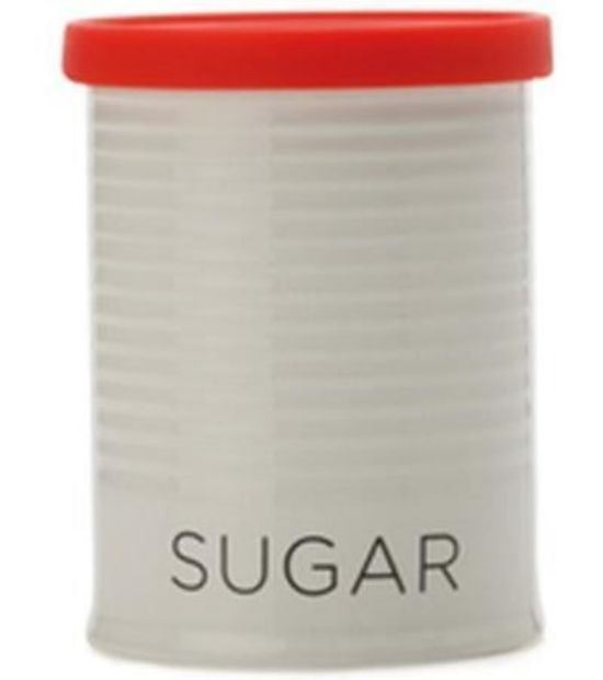 Maxwell and Williams Clearance Canister 500ml Sugar Red