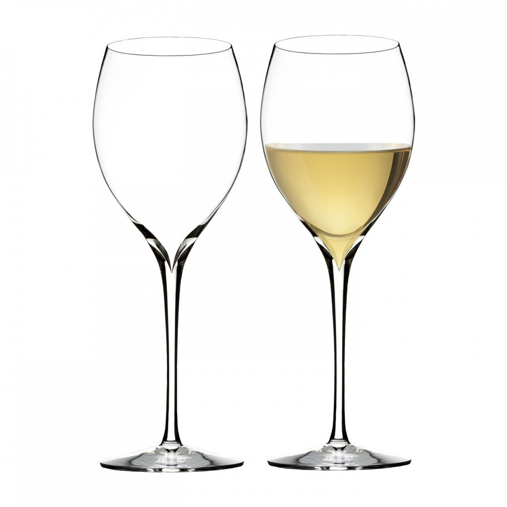 Waterford Crystal Elegance Wine Story Chardonnay Glass (Pair)