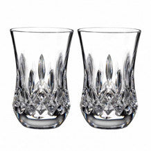 Waterford Crystal Lismore Connoisseur Flared Sipping Tumbler 0.19L (Pair)