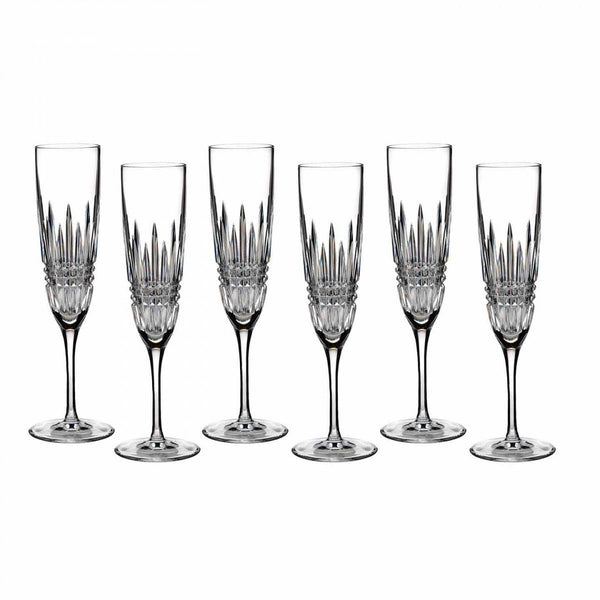Waterford Crystal Lismore Champagne Flute (Set of 6)