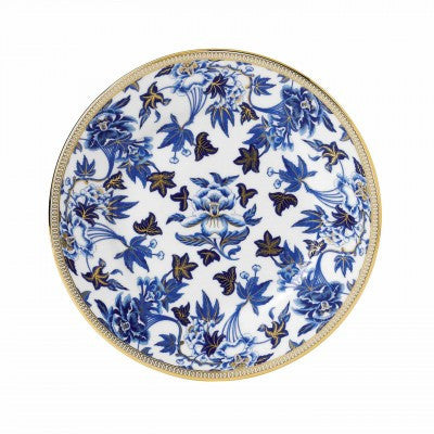 Wedgwood Hibiscus Blue Salad Plate 20cm
