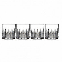 Waterford Crystal Lismore Connoisseur Diamond Straight Tumbler 0.14L (Set of 4)