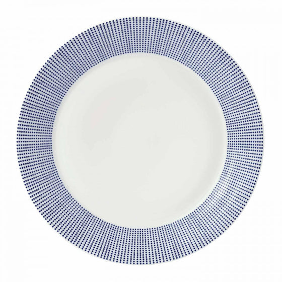 Royal Doulton Pacific Blue Dots Dinner Plate 27cm
