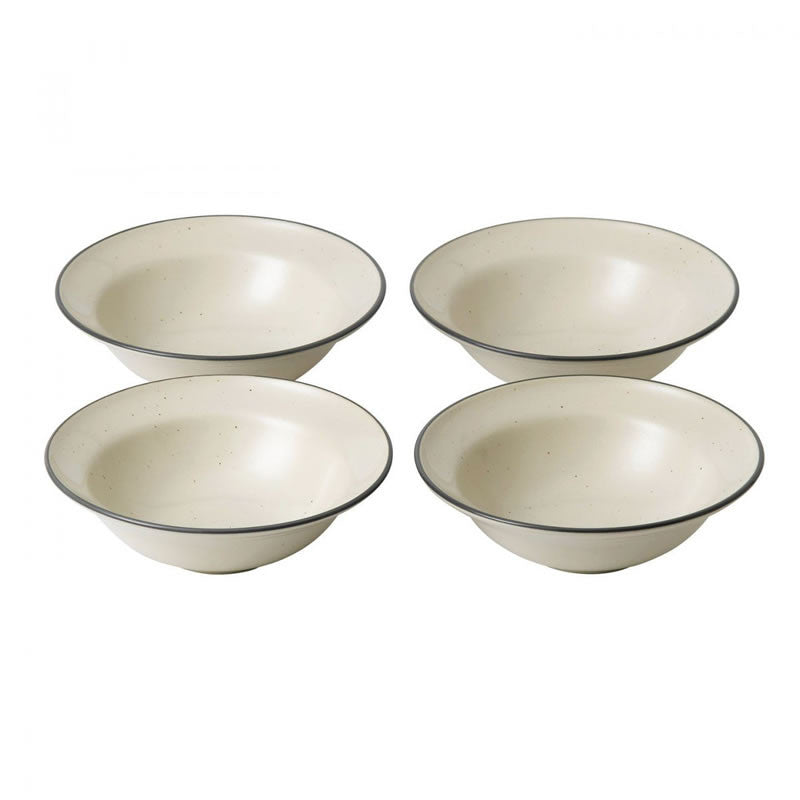 Royal Doulton Gordon Ramsay Union Street Cream Small Bowl 14cm (Set of 4)