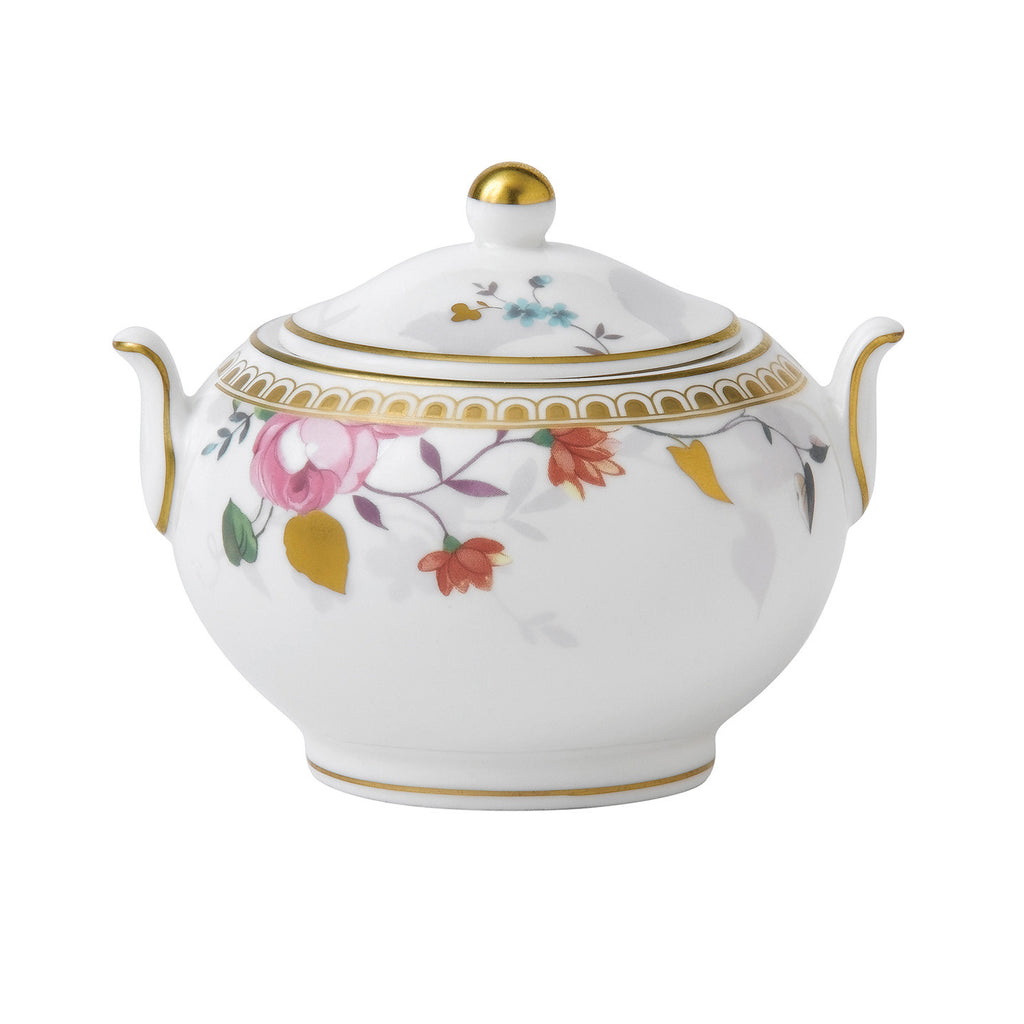 Wedgwood Rose Gold Sugar Bowl (Gift Boxed)