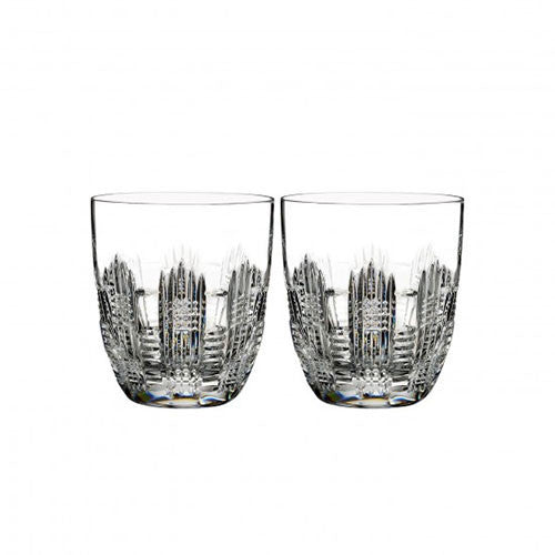 Waterford Crystal Essentially Waterford Dungarvan Old Fashioned Tumbler (Pair)