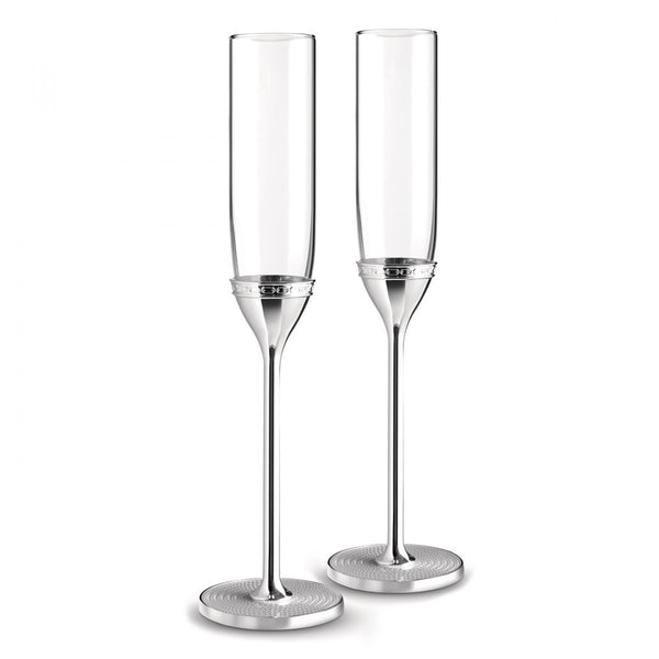 Vera Wang With Love Silver Toasting Flute (Pair)