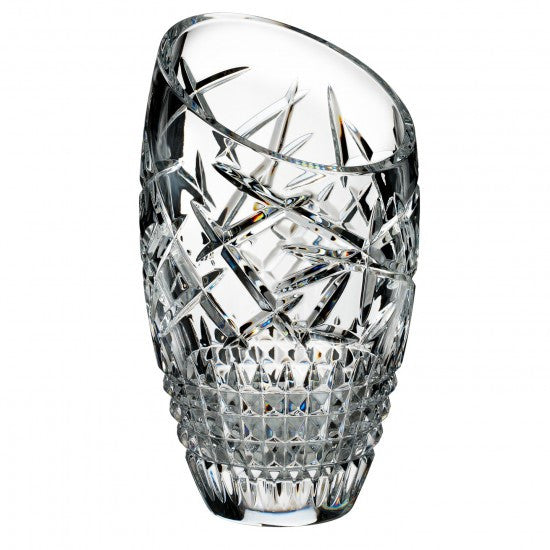 Waterford Crystal Fleurology Slant Cleo Vase 35cm