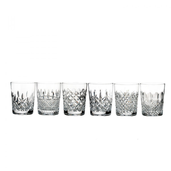 Waterford Crystal Lismore Connoisseur Heritage Double Old Fashioned Tumbler (Set of 6)