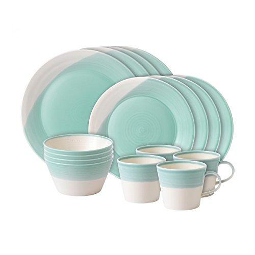 Royal Doulton 1815 Aqua 16 Piece Set