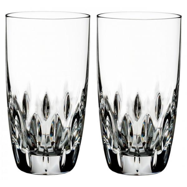 Waterford Crystal Ardan Enis Hi Ball Glasses (Pair)