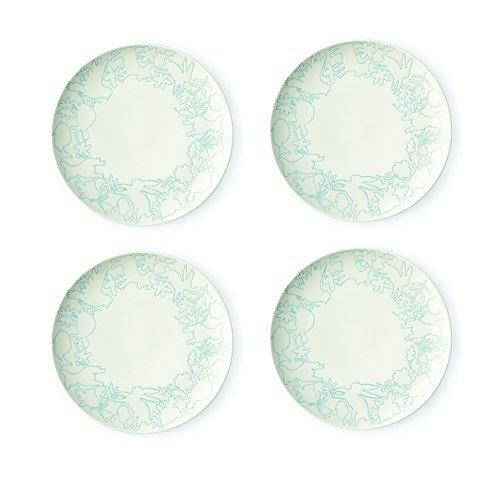 Royal Doulton Ellen DeGeneres Polar Blue Accents Plate 21cm (Set of 4)