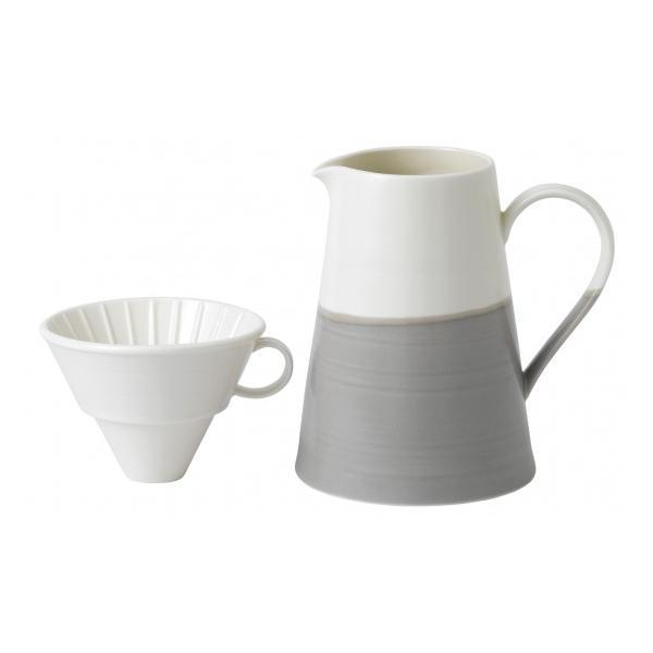 Royal Doulton Coffee Studio Coffee Jug and Large Dripper Set 1.10L