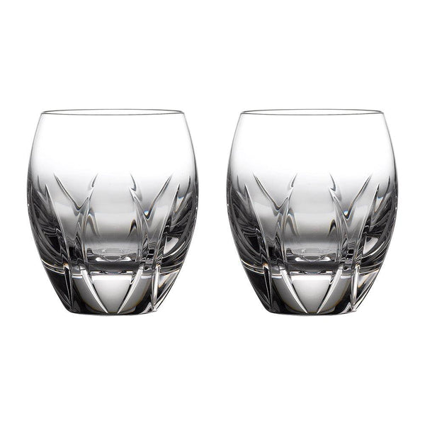 Waterford Crystal Ardan Tonn Double Old Fashioned Tumbler (Pair)