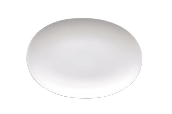 Thomas Medaillon White Oval Platter 33cm