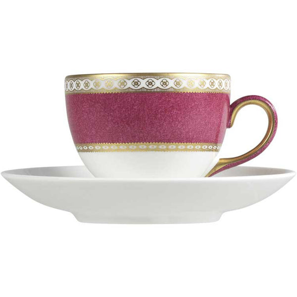 Wedgwood Ulander Powder Ruby Leigh Teacup (Cup Only)