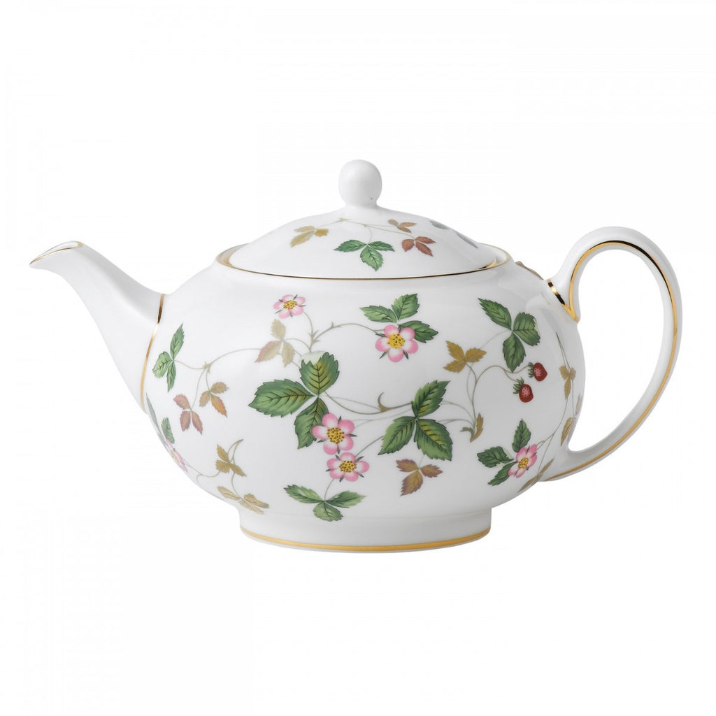 Wedgwood Wild Strawberry Teapot 0.8L
