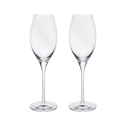 Dartington Crystal Bar Excellence Sparkling Wine Glass (Pair)