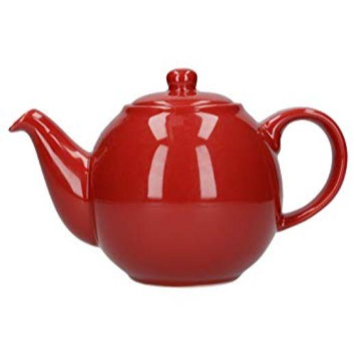 London Pottery Globe 2 Cup Red Teapot