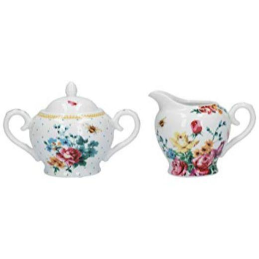 Katie Alice Bohemian Spirit Sugar and Creamer Set