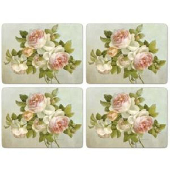 Pimpernel Antique Rose Placemats 40.1cm By 29.8cm (Set Of 4)