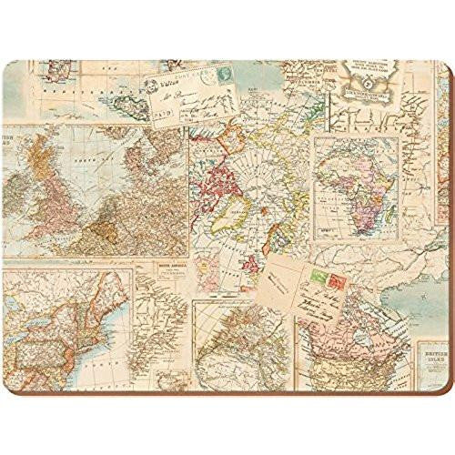 Creative Tops Everyday Home Atlas Placemats 29cm by 21.5cm (Set of 4)