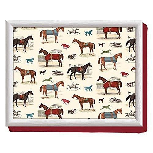 Creative Tops Creative Tops Cushion Day At The Races Lap Tray 44cm by 34cm