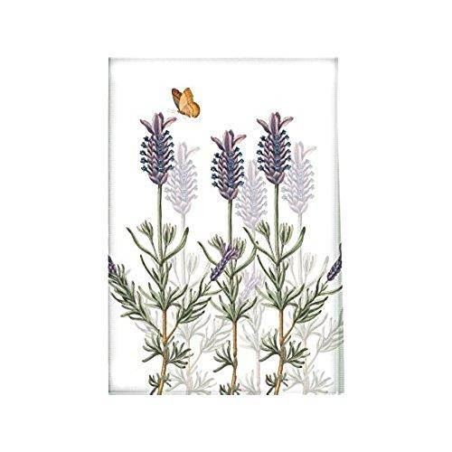 Creative Tops Royal Botanic Gardens Lavender Cotton White Tea Towel