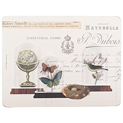 Creative Tops Nature Under Glass Placemats 30cm by 22.8cm (Set of 6)