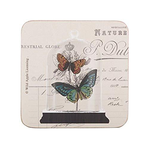Creative Tops Nature Under Glass Coasters 10.5cm by 10.5cm (Set of 6)