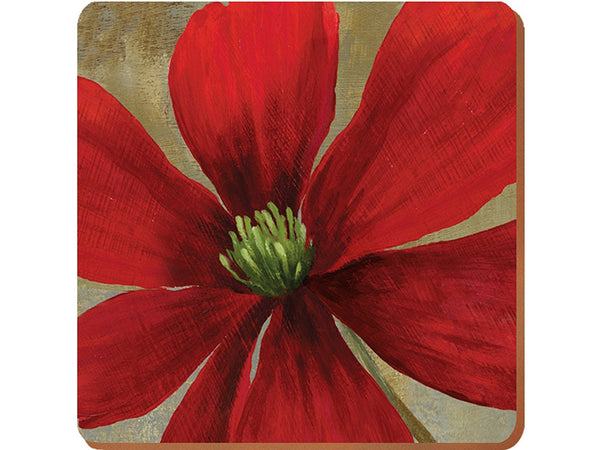 Creative Tops Flower Study Premium Coasters 10.5cm by 10.5cm (Set of 6)